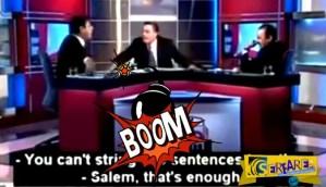 Αραβική τηλεόραση: «Ομηρικοί» καυγάδες μέχρι τελικής πτώσης
