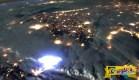 Πώς φαίνονται οι κεραυνοί από το διάστημα …