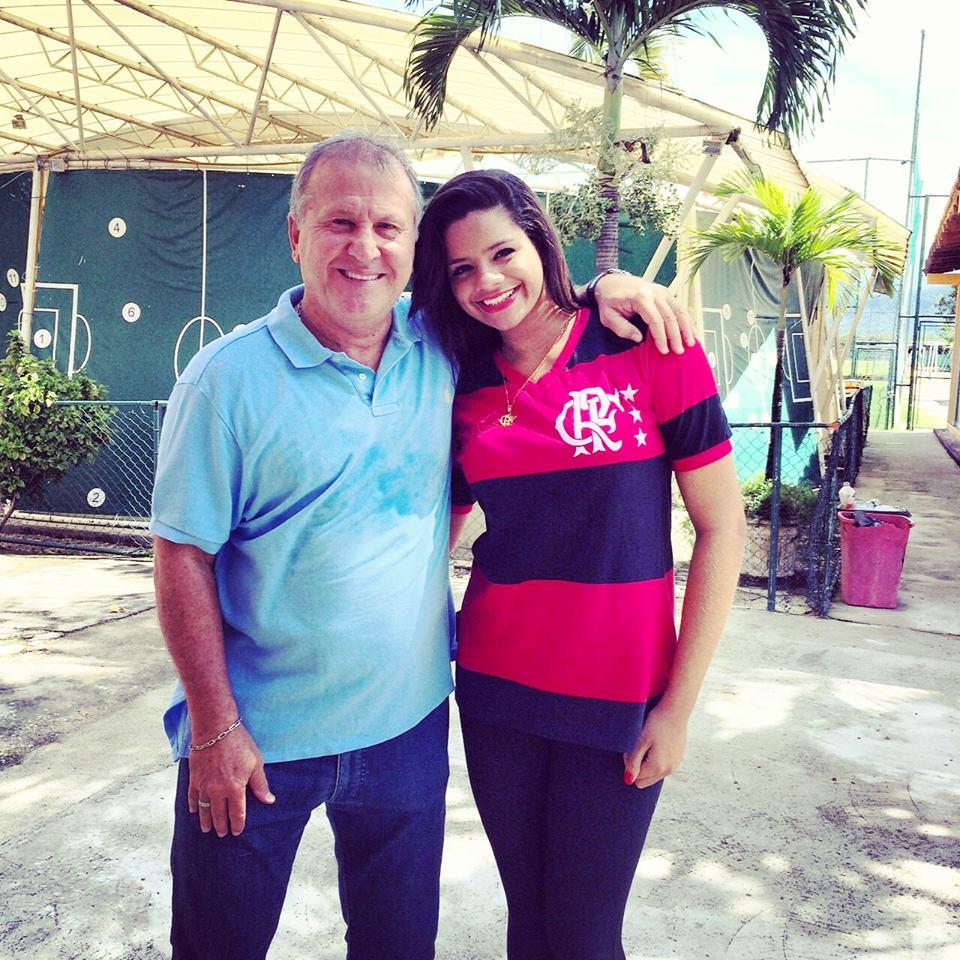 Bruna Uchôa saiu da Bahia para conhecer o Galinho