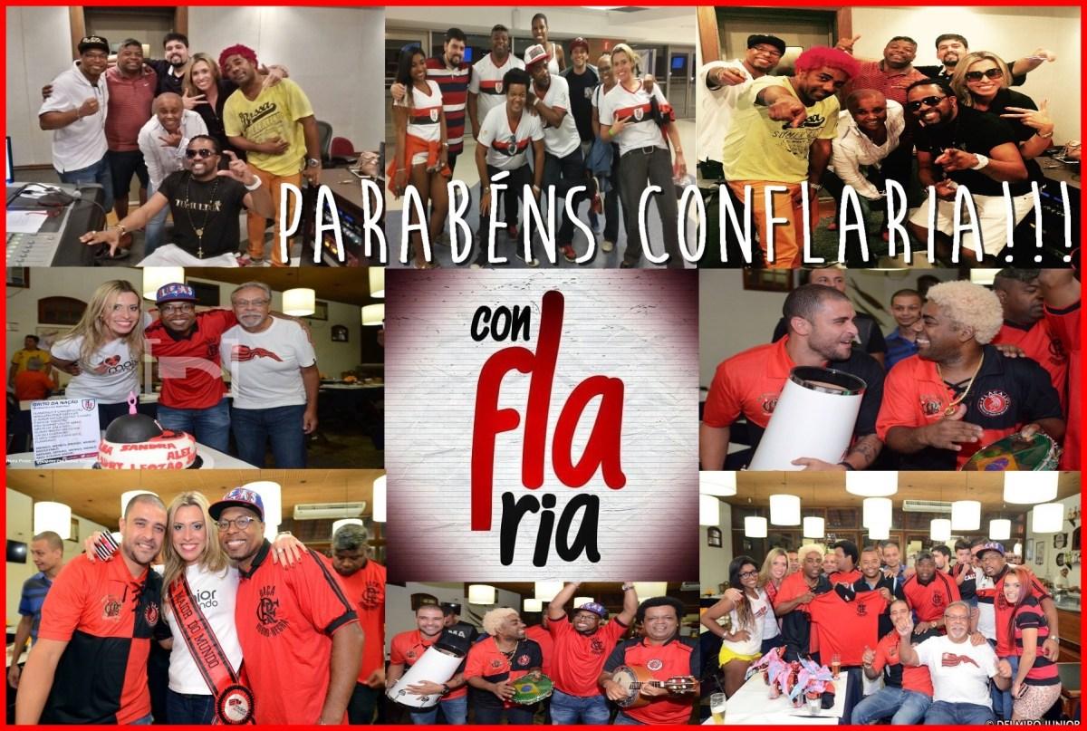 Parabéns, ConFLAria! 1 ano de flamengalidade!