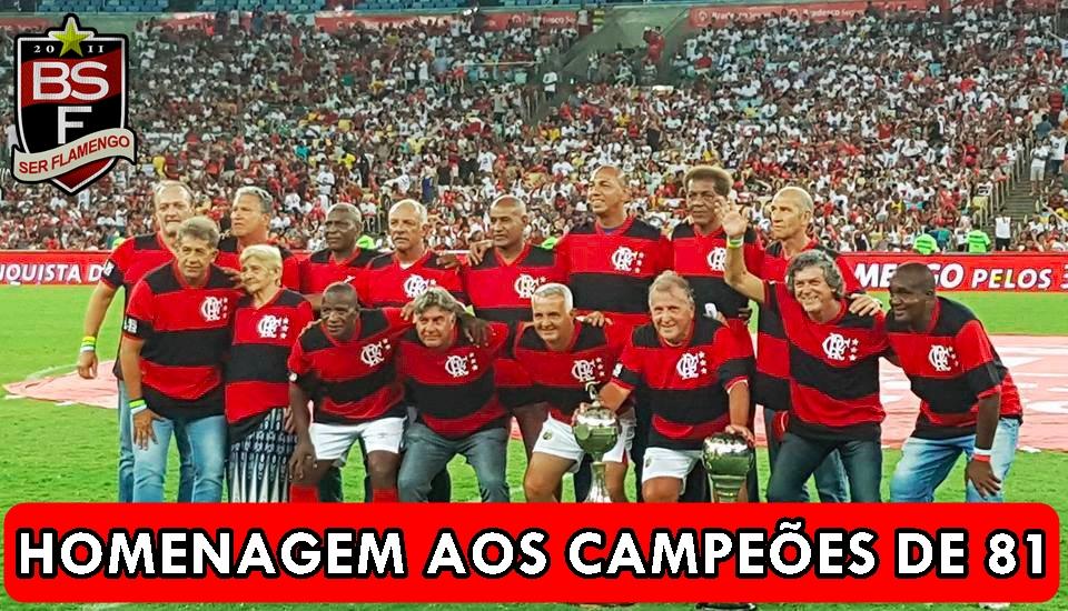 Homenagem do Fla Nação aos Campeões de 1981