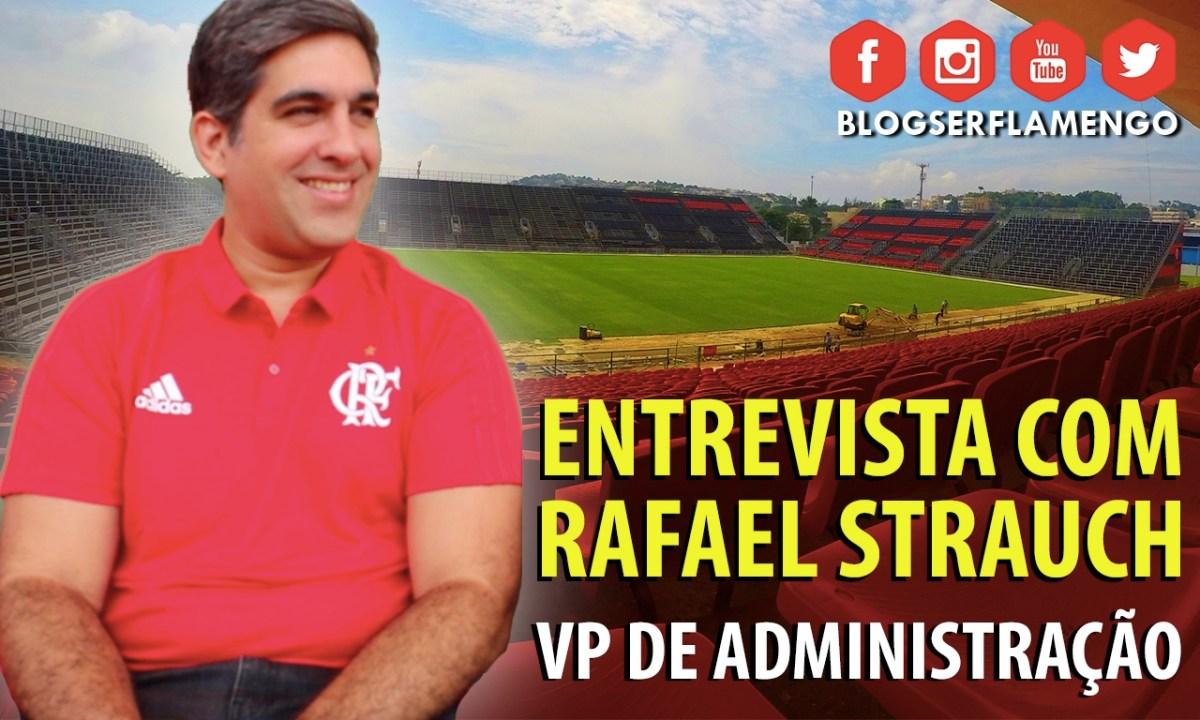 ENTREVISTA COM RAFAEL STRAUCH - VP DE ADMINISTRAÇÃO: O ESTÁDIO DA ILHA