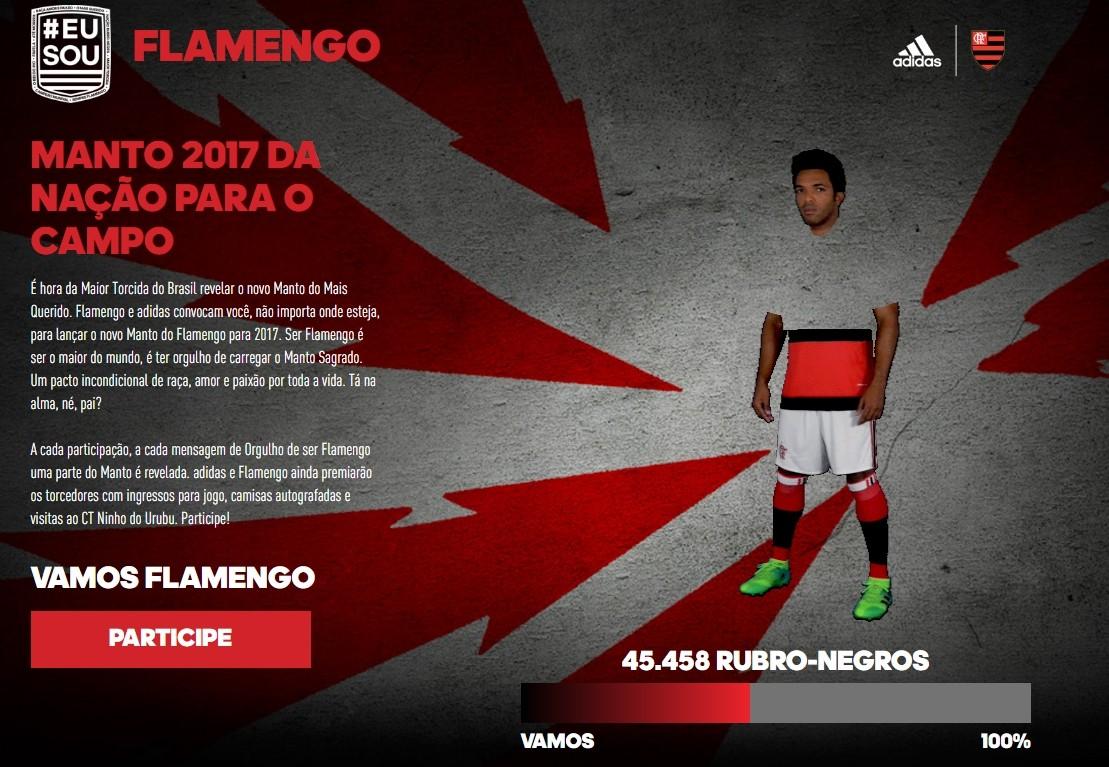 Flamengo e adidas convidam a Nação para lançar o novo Manto Sagrado
