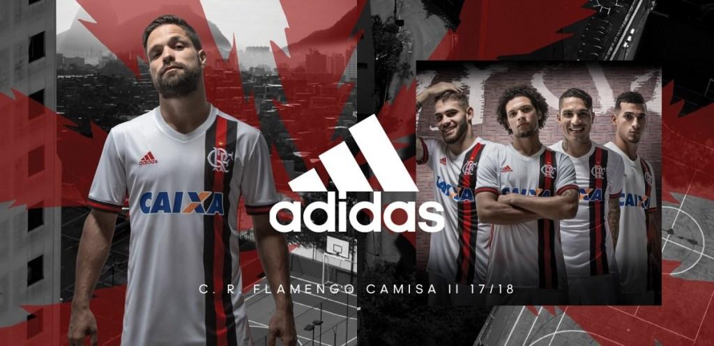 Com desenho inédito, adidas e Flamengo lançam segundo uniforme 2017/2018
