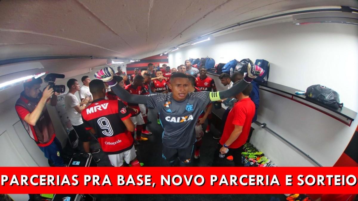 Parcerias pra base e novo patrocínio do Flamengo
