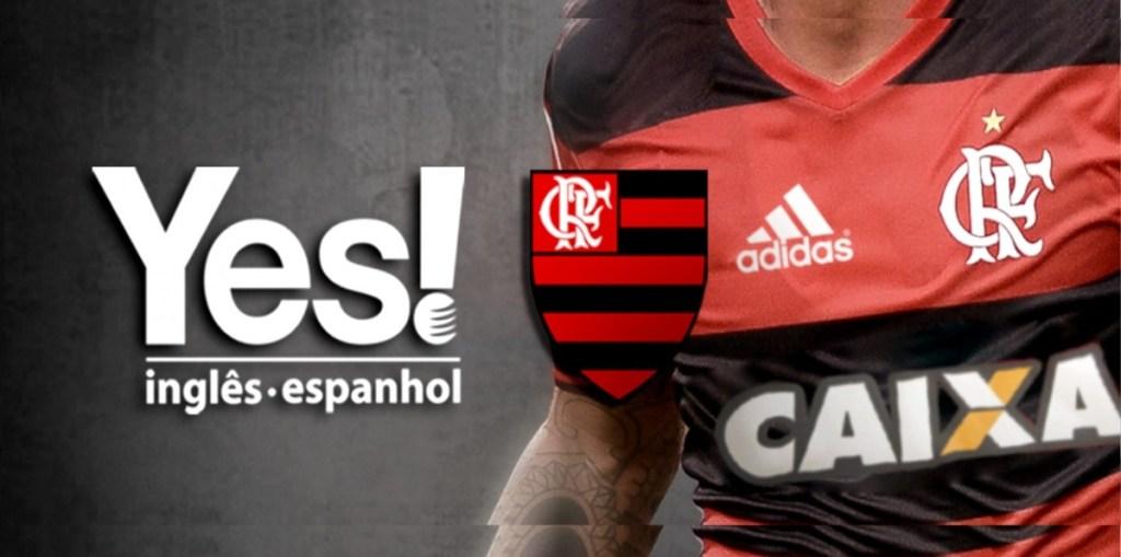 Patrocinadora do Flamengo, Yes! Idiomas oferece bolsas de estudos para Sócio Torcedor