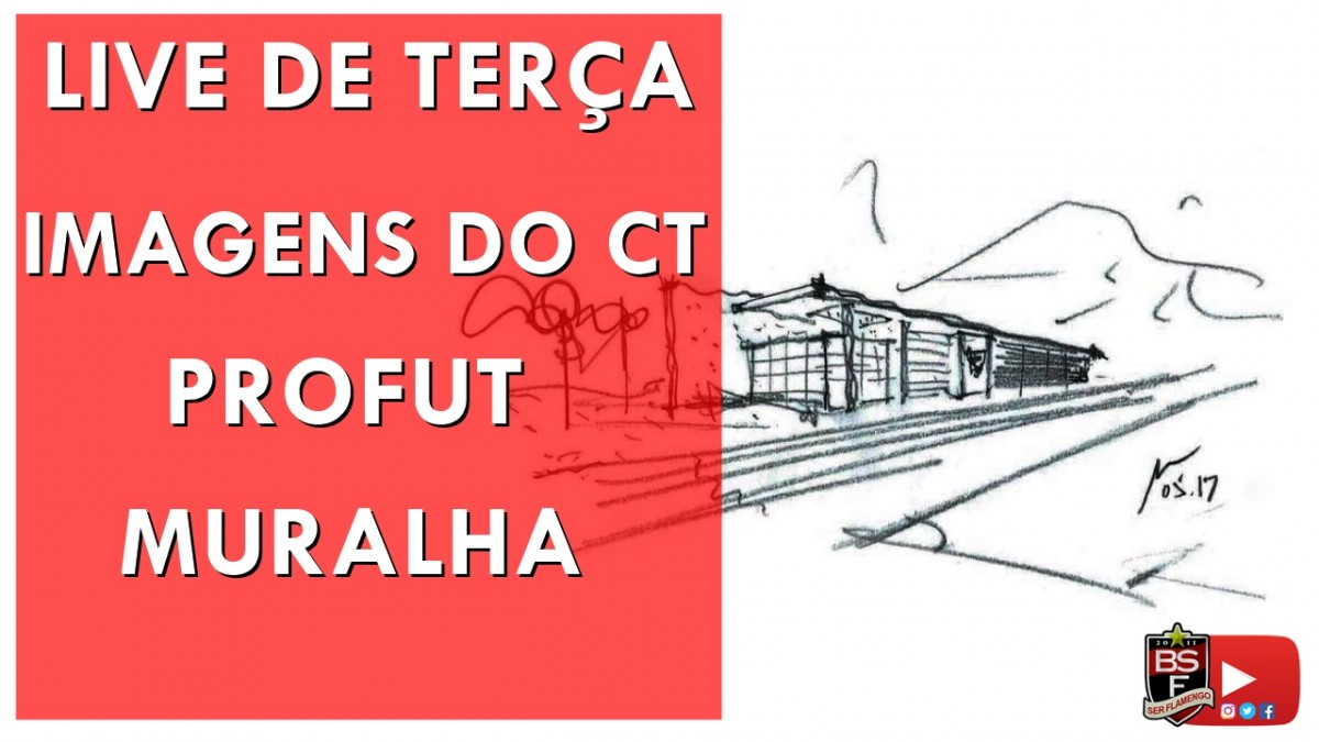 Novas fotos do CT, Muralha e PROFUT