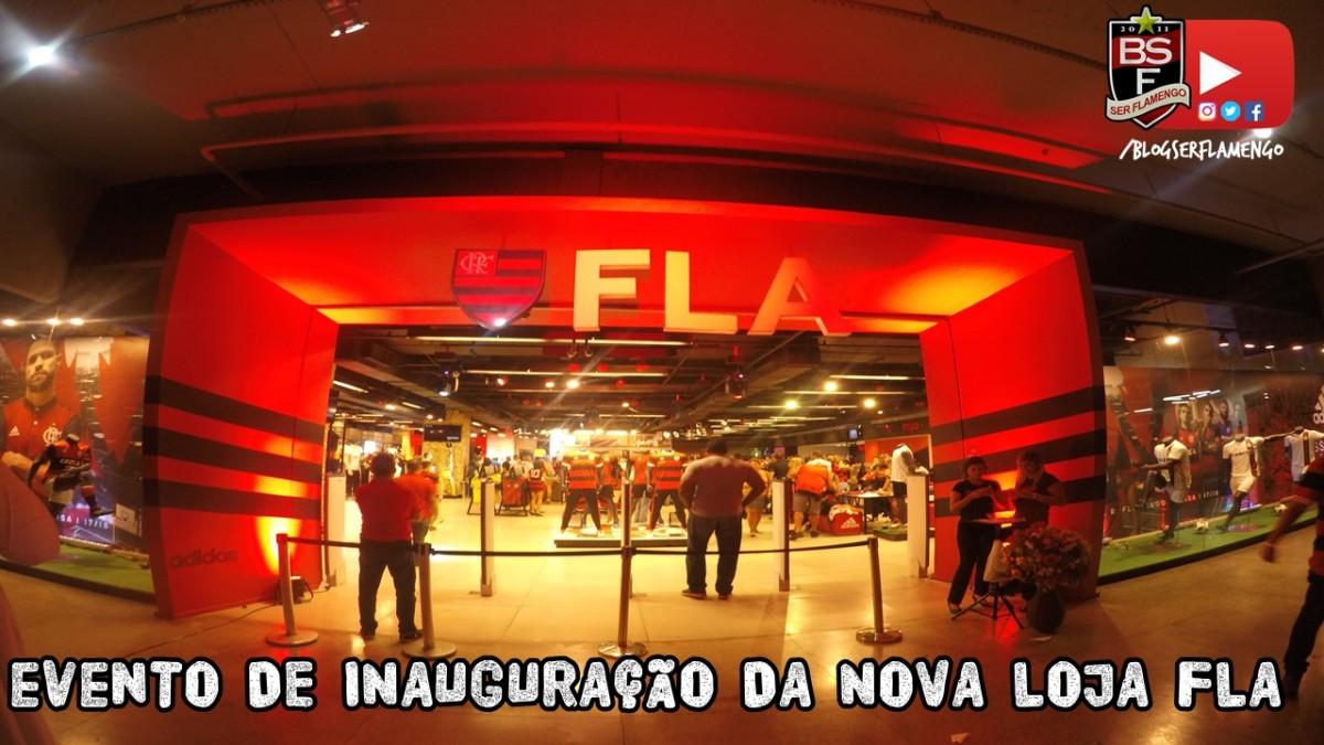 Inauguração da nova Loja FLA na Gávea