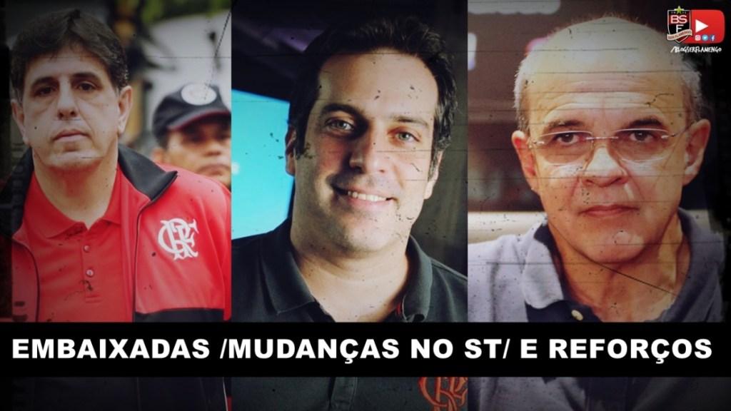 TRABALHO SOCIAL NAS EMBAIXADAS - MUDANÇAS NO SÓCIO TORCEDOR COM MAURÍCIO/ORLEAN/BANDEIRA