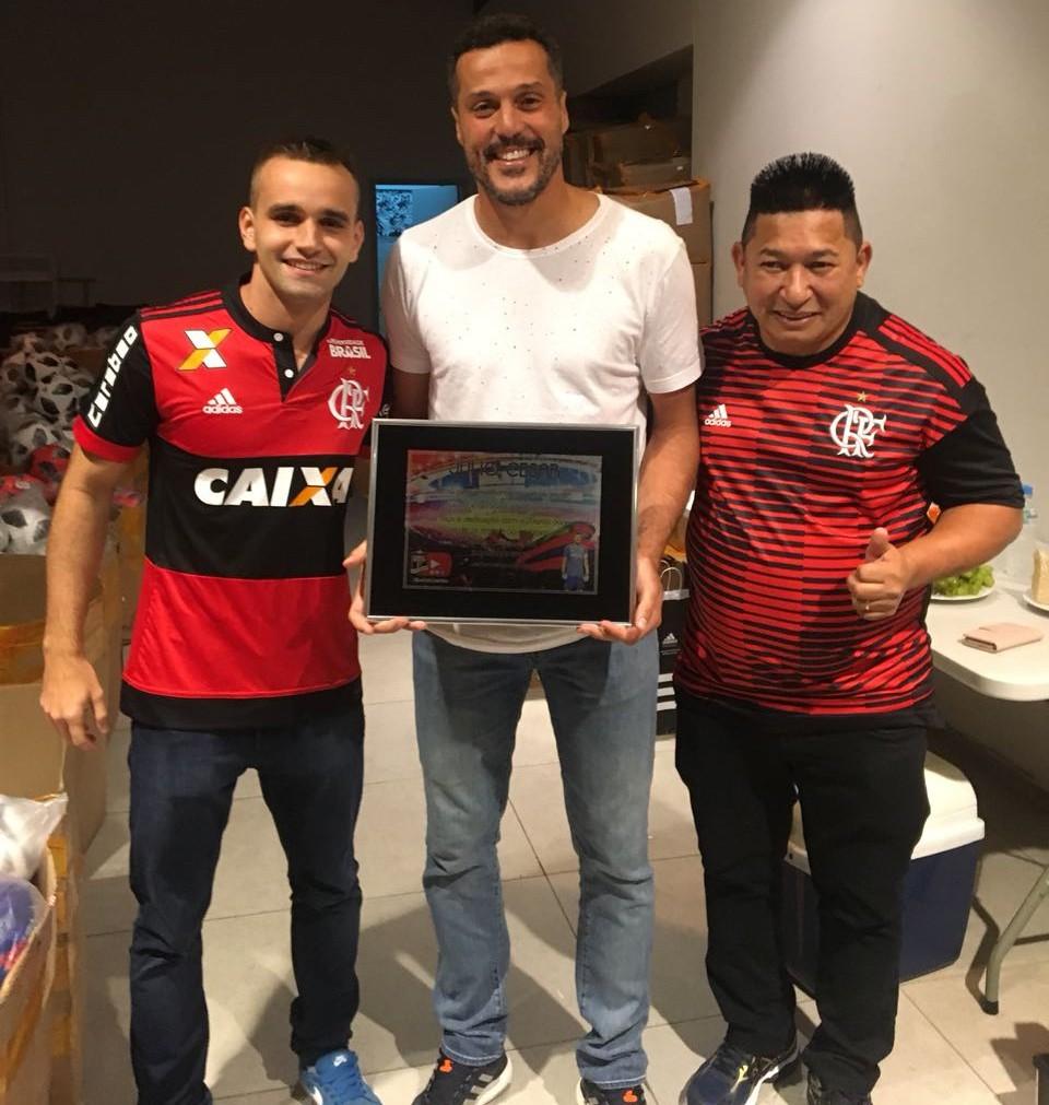 Blog Ser Flamengo faz homenagem ao goleiro Júlio César