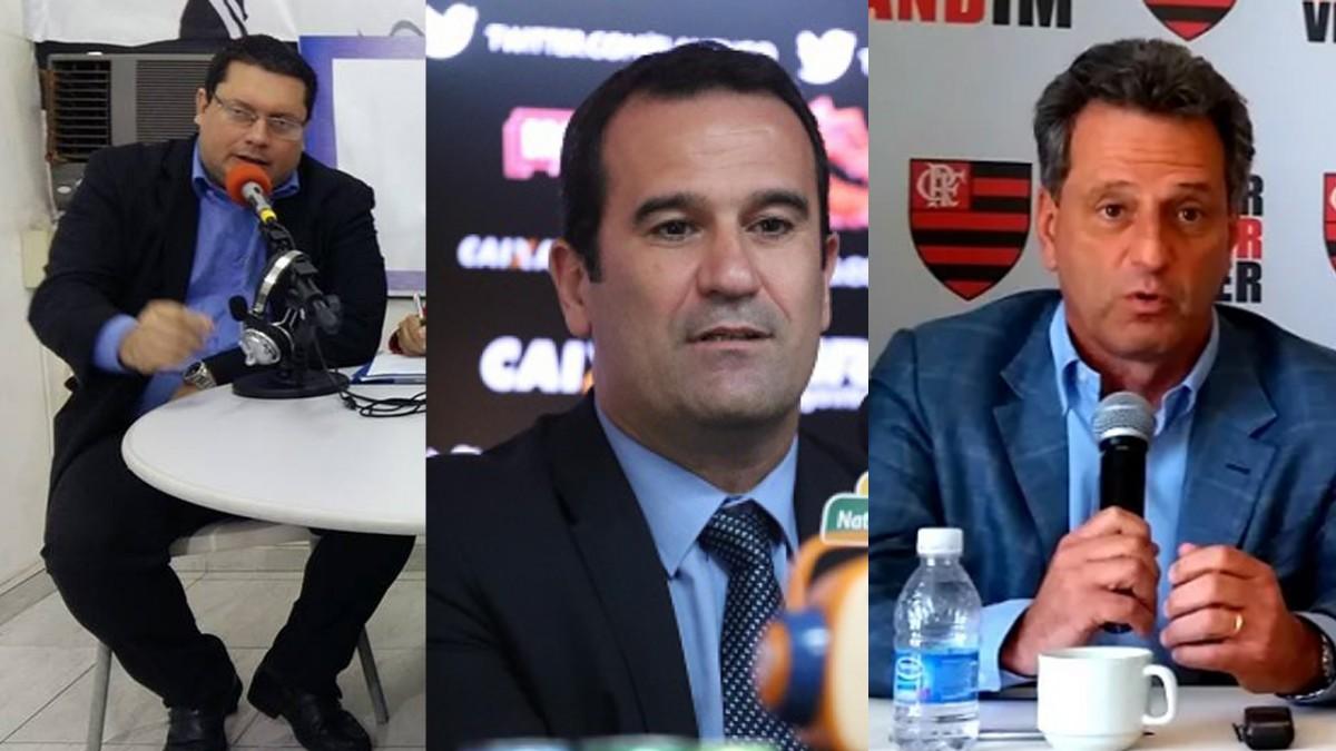 Com três candidatos confirmados até o momento para a eleição do Flamengo, em quem você votaria?