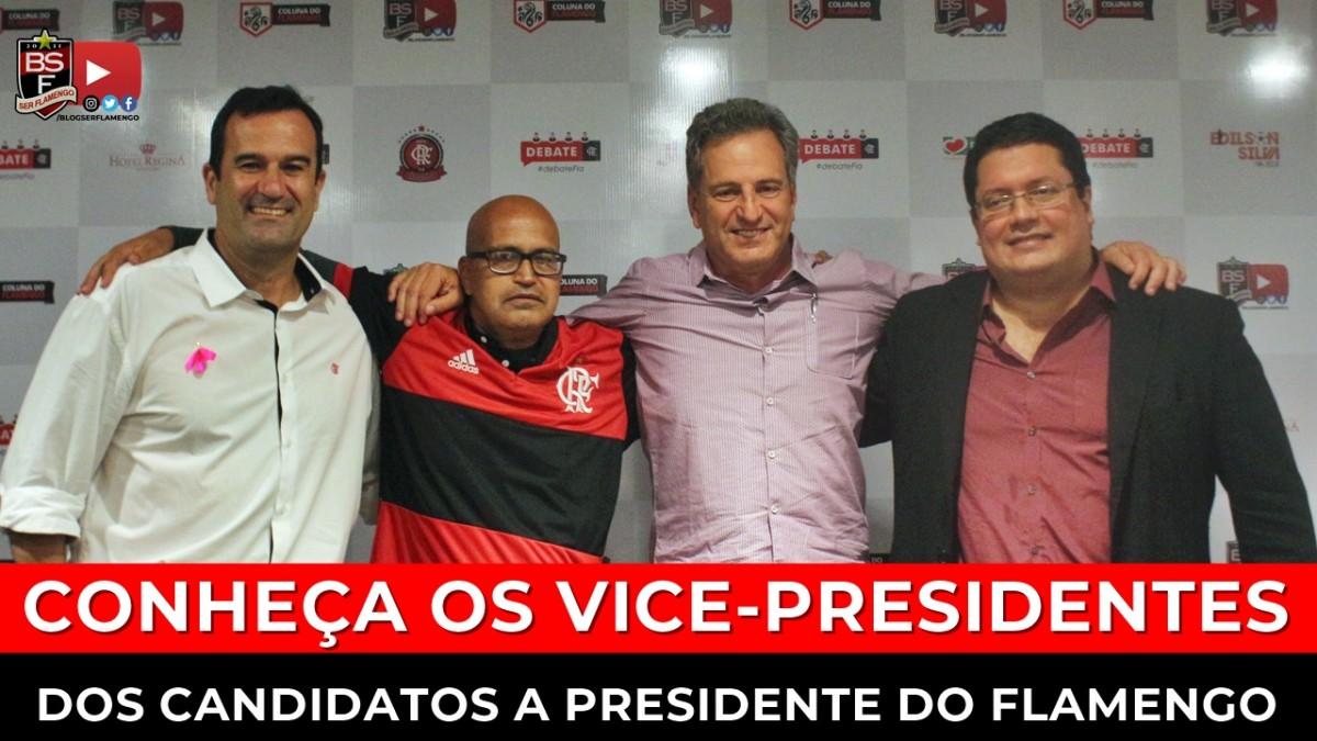 EXCLUSIVO: Quem serão os vice-presidentes dos candidatos a presidente do Flamengo