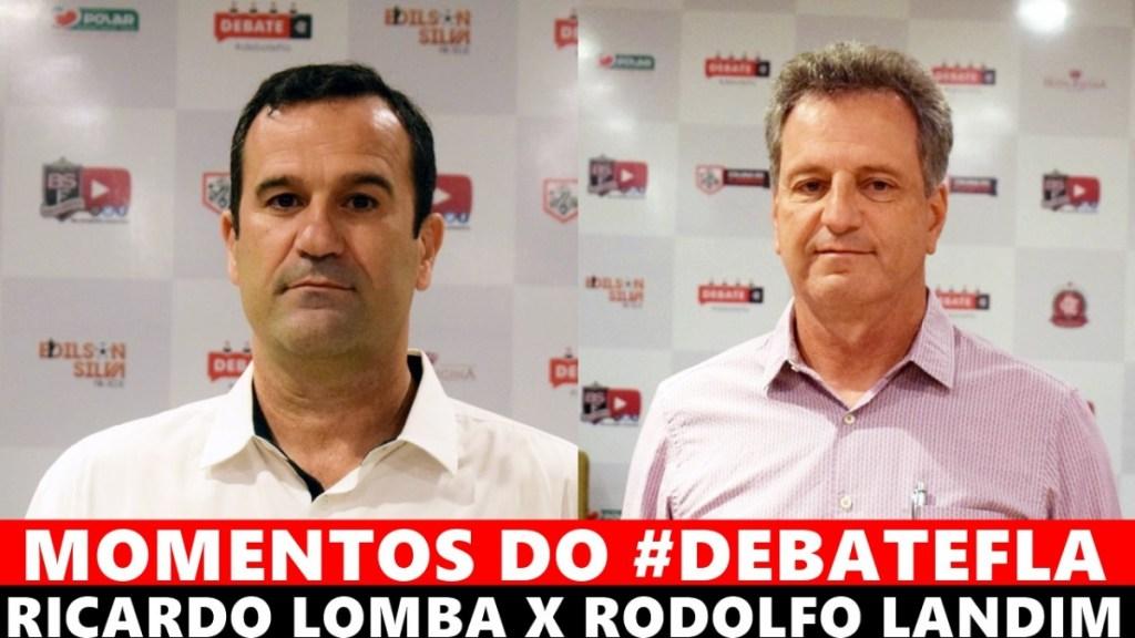MOMENTOS DO #DEBATEFLA - RICARDO LOMBA X RODOLFO LANDIM
