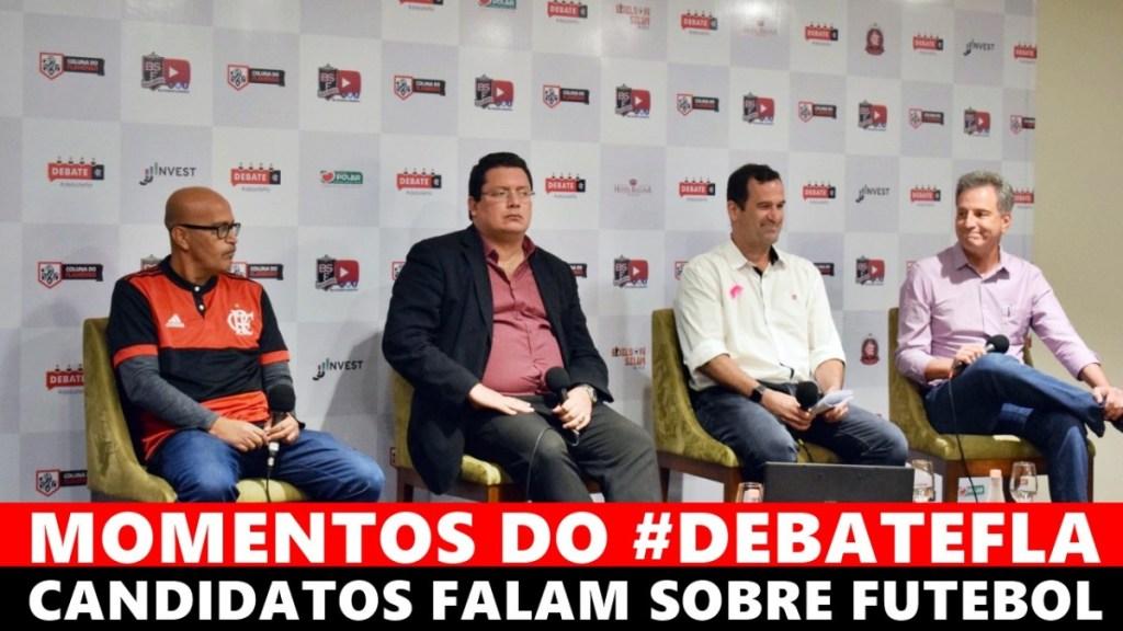MOMENTOS DO #DEBATEFLA - CANDIDATOS FALAM SOBRE O FUTEBOL DO FLAMENGO