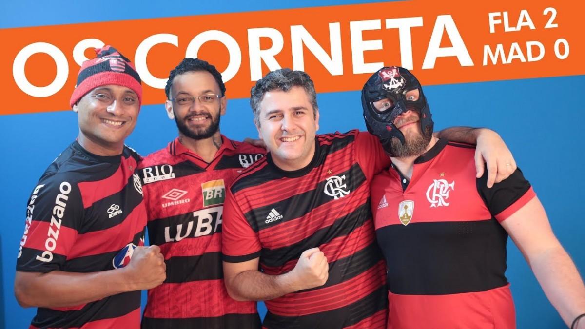 OS CORNETA - Madureira 0 x 2 Flamengo - Nego Ney, gols, cornetadas e muita resenha