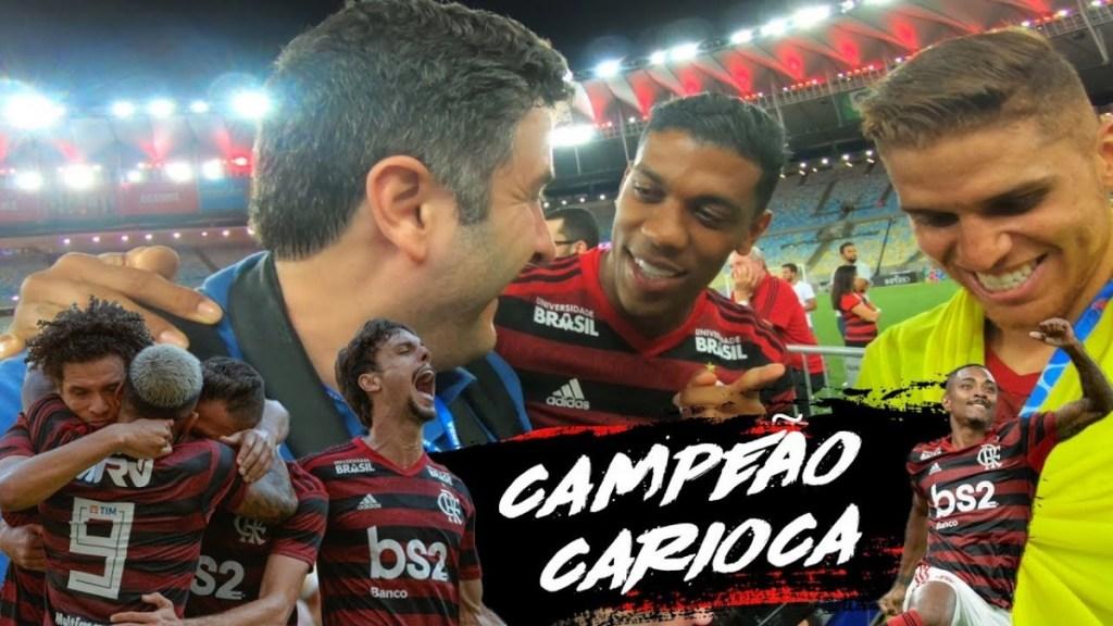 DIÁRIO DE UM CAMPEÃO CARIOCA 2019. Conversa com Cuellar, Diego Alves. Everton Ribeiro...