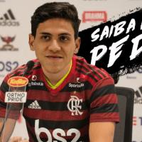 Sabia que o Pedro começou no Flamengo? Saiba mais sobre o novo atacante