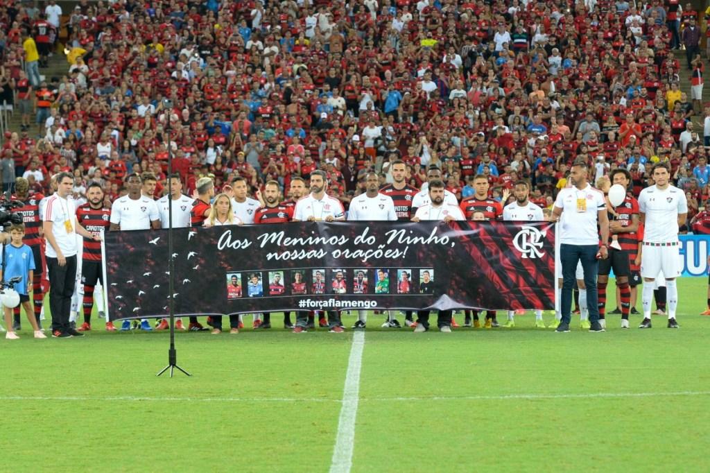 Flamengo irá homenagear os meninos do Ninho, vitimas da tragédia do CT na partida contra o Madureira