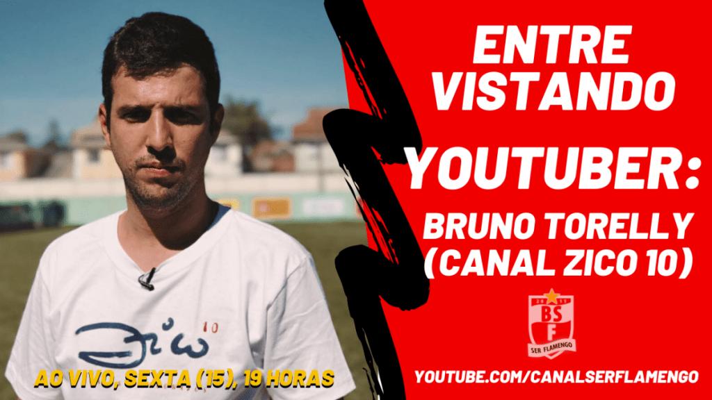 ENTREVISTANDO YOUTUBER: BRUNO TORELLY (VEGETA) - O TRABALHO NO CANAL ZICO 10
