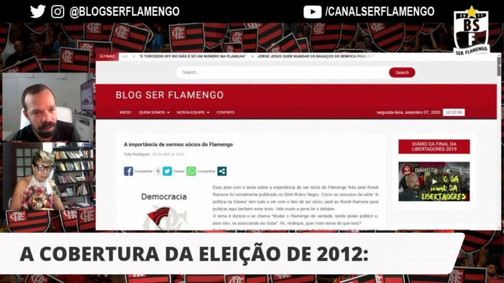 O ROMPIMENTO COM A GESTÃO AMADORA DO FLAMENGO PARTIU DA TORCIDA EM 2012 - BATE-PAPO COM VIVI MARIANO
