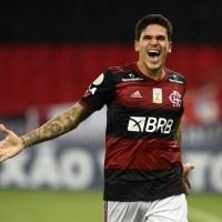 """Pedrito que deu """"vapo"""" no Goiás e é a cara do Flamengo!"""