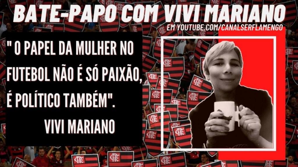 """VIVI MARIANO: """"O PAPEL DA MULHER NO FUTEBOL NÃO É SÓ PAIXÃO, É POLÍTICO TAMBÉM"""""""