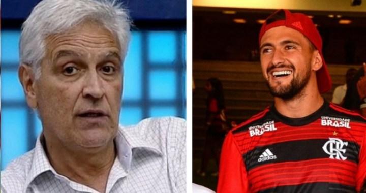 Sormani não aceita que fez avaliação errada de Arrascaeta quando ele veio para o Flamengo