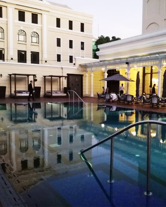 Strand Hotel 5* Yangon Pool finished