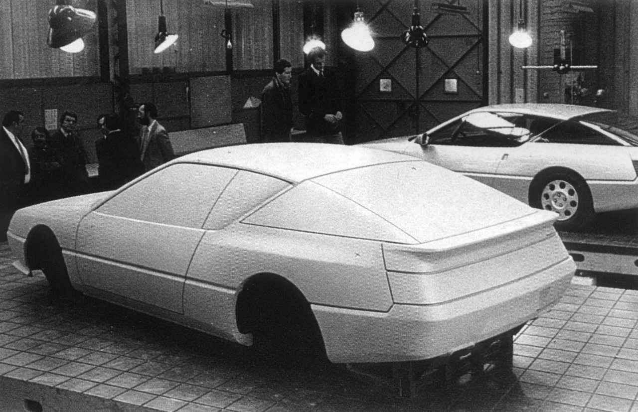 gta design   Alpine V6 GT: Lancement à 2 vitesses
