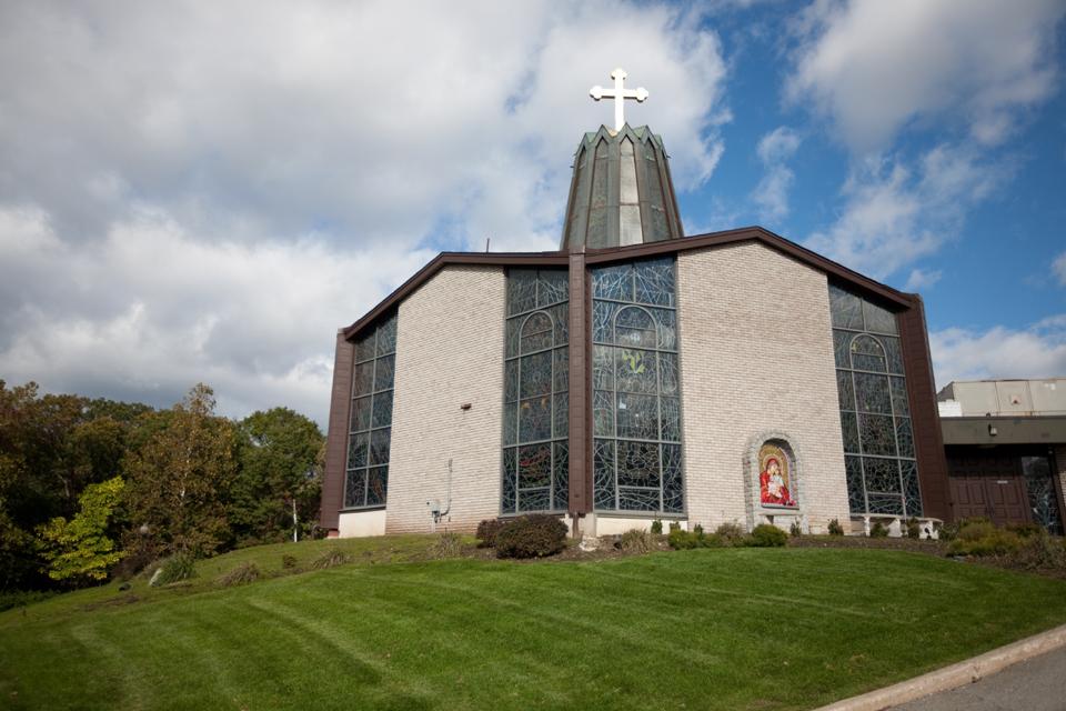 New Jersey Wedding Photography  St George Antiochian Orthodox Christian Church Wedding Photos