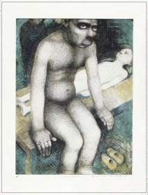 """Metamorphosis,"" 2004, image: 23.75 x 17.5"", framed: 30 x 22.5""."