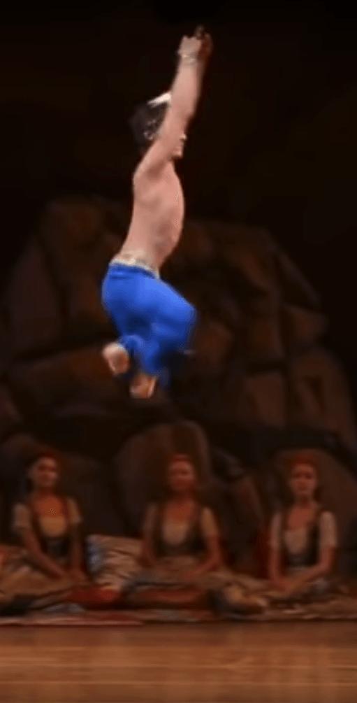 huge ballet jumps