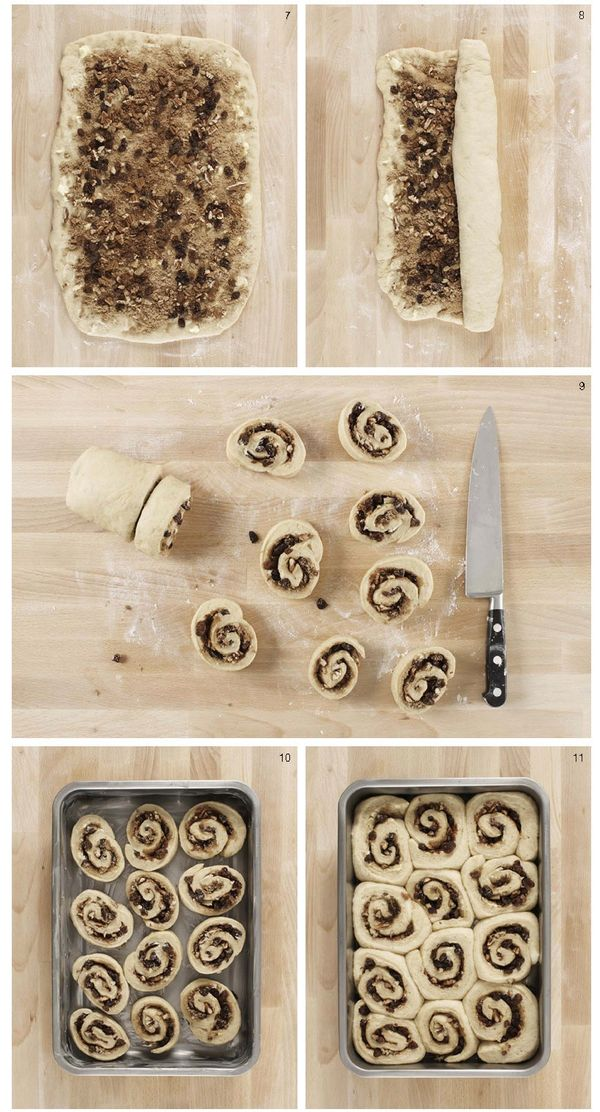 12 Steps to Cinnamon Rolls Heaven by Jane Hornby Holiday Recipes Part 4  Serge the Concierge