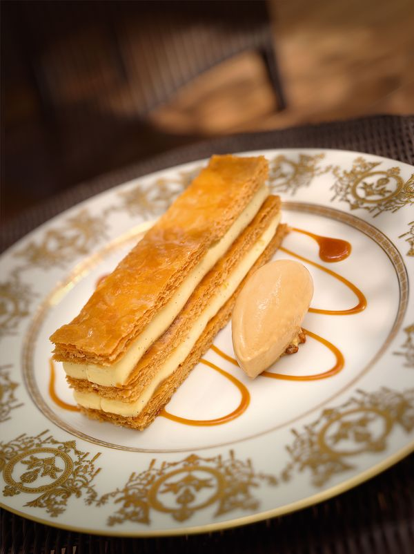 Haute Mille Feuille Recipe by Michel Roth from the Pages