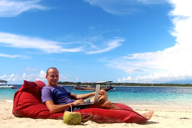 Александр Редькин на о. Бали