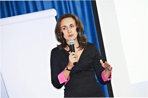 Наталья Одегова на выступлении