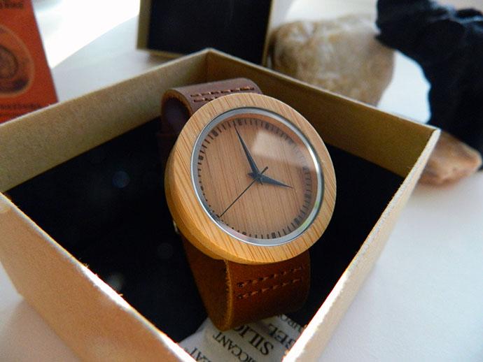деревянные часы наручные bobo bird