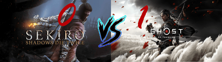 Sekiro Vs. Ghost of Tsushima 0 1