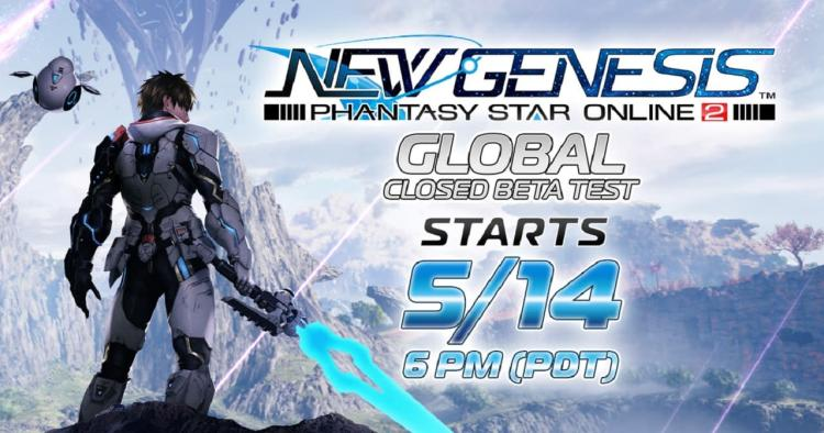 New Genesis closed beta cover art and live times