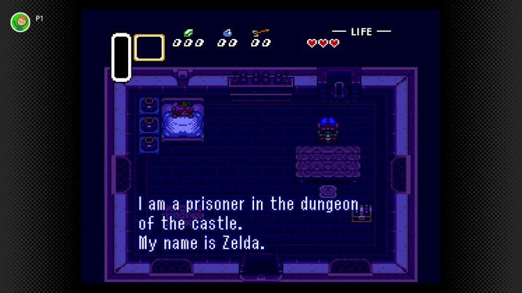 A Link to the Past Link in bed