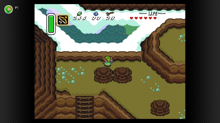 A Link to the Past on top of the mountain.