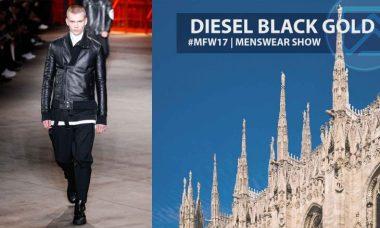 Diesel Back Gold – Milan Fashion Week 2017