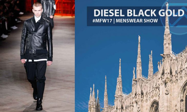 Diesel Back Gold – Milan Fashion Week 2017