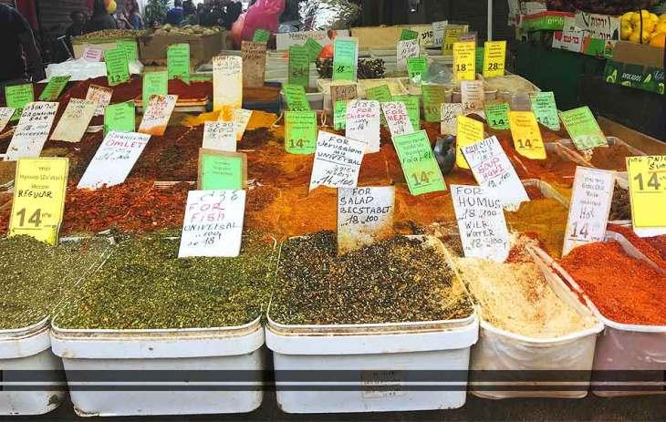El mercado en Israel