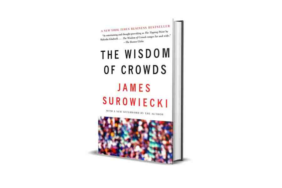 <strong>The Wisdom of Crowds: Why the Many Are Smarter Than the Few</strong> Book Cover