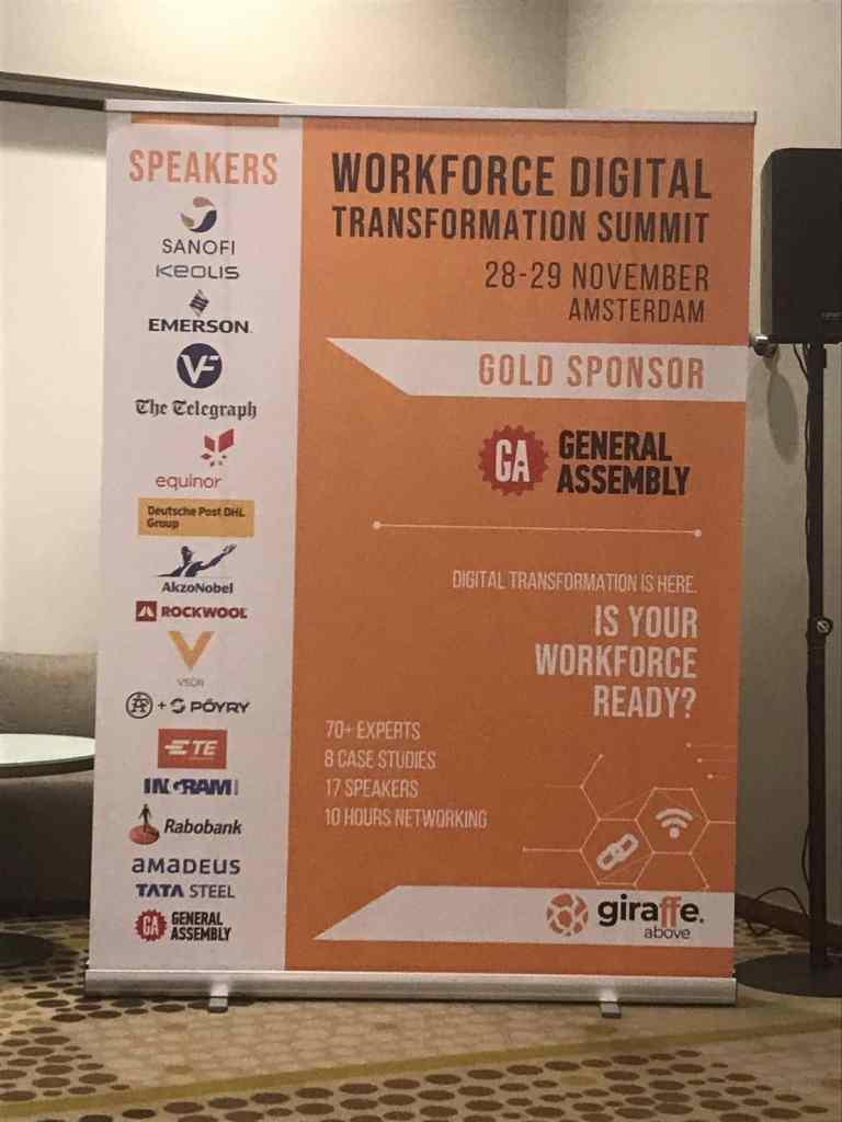 Workforce Digital Transformation Summit Event Banner