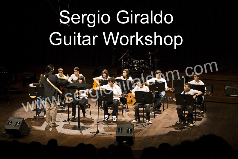 Sergio Giraldo guitar workshop