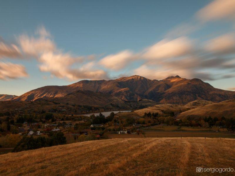 Queenstown Montañas amanecer