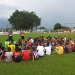 Atletas de escolinha de Alto Araguaia são selecionados na peneira do Ponte Preta em Mineiros
