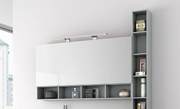 Espejos Camerinos Iluminacion Apliques Bao  Muebles de